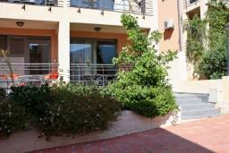 Front of the house. Montenegro, Becici : Apartment with 1 bedroom in Becici