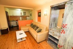 Гостиная. Черногория, Каменово : Апартамент с отдельной спальней в 300 метрах от моря