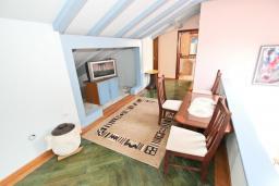 Гостиная. Черногория, Святой Стефан : Апартаменты на 5 персон, 2 спальни, с видом на море