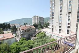 Вид. Черногория, Игало : Студия с балконом с видом на море, 50 метров до пляжа