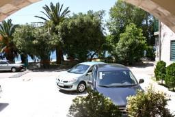 Терраса. Черногория, Кумбор : Cтудия с террасой видом на море
