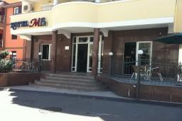 Вход. MB Hotel 3* в Будве