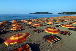 Ближайший пляж. Queen of Montenegro 4* в Бечичи