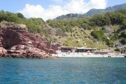 Пляж Црвена Главица / Crvena Glavica в Свети Стефане