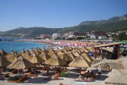 Пляж Великий пиесак / Veliki pijesak в Добра Вода