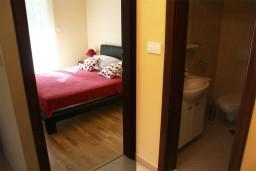 Спальня. Черногория, Герцег-Нови : Апартамент Розовая Страсть в 700 метрах от моря