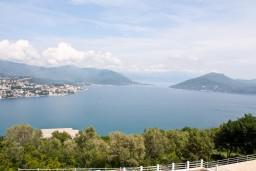 Вид на море. Черногория, Герцег-Нови : Дом с бассейном с 3-мя отдельными спальнями, с 2-мя кухнями, с шикарным видом на море