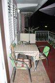 Балкон. Черногория, Нивице : Студия в Нивице с балконом и видом на море