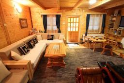 Гостиная. Черногория, Колашин : Дом в Колашине с 3-мя отдельными спальнями