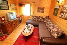 Гостиная. Черногория, Колашин : Уютный деревянный дом в Колашине с 3-мя отдельными спальнями, с большой гостиной.