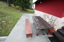 Терраса. Черногория, Жабляк : Уютный дом с отдельной спальней, Жабляк, Черногория.