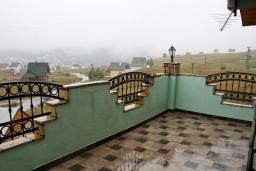 Терраса. Черногория, Жабляк : Апартамент для 6-8 человек, 2 отдельных спальни, Жабляк, Черногория.