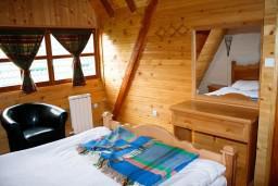 Спальня. Черногория, Жабляк : Просторный 2-х этажный апартамент для 5-7 человек, 2 отдельных спальни, Жабляк, Черногория.