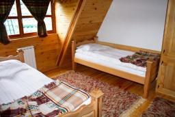 Спальня 2. Черногория, Жабляк : Просторный 2-х этажный апартамент для 5-7 человек, 2 отдельных спальни, Жабляк, Черногория.