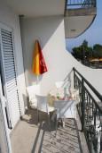 Балкон. Черногория, Баошичи : Студия с балконом и видом на море в Баошичи