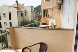 Балкон. Черногория, Петровац : Студия с балконом и видом на море