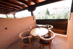 Терраса. Черногория, Бечичи : Уютная студия для 2-3 человек