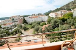 Вид. Черногория, Бечичи : Уютная студия с балконом с видом на море