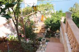Вид на море. Черногория, Обала Джурашевича : Студия с террасой, видом на море и на сад
