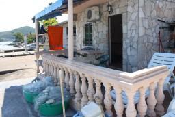 Балкон. Черногория, Обала Джурашевича : Студия с балконом с шикарным видом на море
