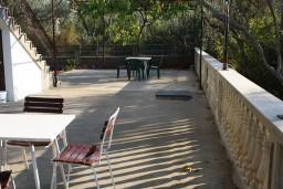Terrace. Montenegro, Zanjice & Miriste : Apartment with 3 bedrooms in Zanjice & Miriste