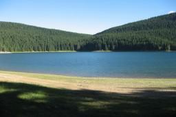Черное озеро в Жабляке