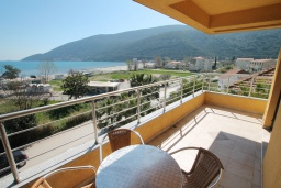 Balcony. Montenegro, Igalo : Studio with 0 BEDRS1_0 in Igalo
