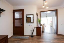Гостиная. Черногория, Крашичи : Роскошная вилла пляжная вилла с бассейном и приватным двориком, 5 спален, 6 ванных комнат, парковка, Wi-Fi