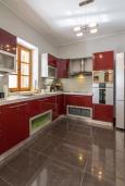 Кухня. Черногория, Рисан : Роскошная вилла с бассейном и видом на море, 7 спален, барбекю, Wi-Fi