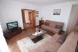 Living room. Montenegro, Baosici : Apartment with 2 bedrooms in Baosici