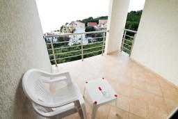 Балкон. Черногория, Утеха : Студия для 2 человек, с шикарным балконом с видом на море