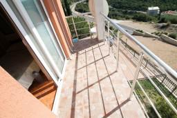 Балкон. Черногория, Утеха : Студия для 2 человек, с балконом с шикарным видом на море