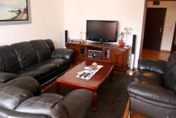 Гостиная. Черногория, Бар : Апартамент для 5-6 человек, 3 отдельные спальни