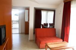 Гостиная. Черногория, Шушань : Апартамент для 3-5 человек, с отдельной спальней