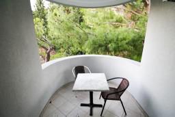 Балкон. Черногория, Сутоморе : Уютная студия в 250 метрах от моря