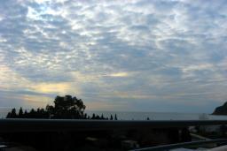 Черногория, Чань : Студия для 4 человек, с балконом с видом на море, 100 метров до пляжа