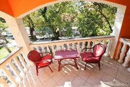 Балкон. Черногория, Лепетане : Студия для 2 человек, 20 метров до моря