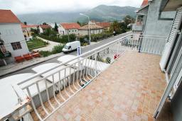 Вид на море. Черногория, Доня Ластва : Апартамент с отдельной спальней, с балконом с видом на море, 80 метров до пляжа