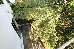Вид. Черногория, Доня Ластва : Студия с балконом с видом на море