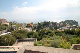 Вид. Черногория, Ульцинь : Студия с террасой с шикарным видом на море