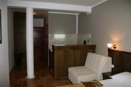Студия (гостиная+кухня). Черногория, Будва : Студио с видом на море (№13 STUDIO 02+1 SV)