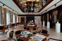 Restaurant.  in Sveti Stefan