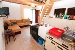 Living room. Montenegro, Njivice : House with 4 bedrooms in Njivice for 9 guests