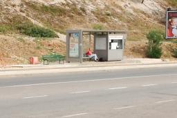 Автобусная станция в Сутоморе